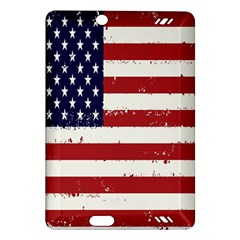 Flag United States United States Of America Stripes Red White Amazon Kindle Fire HD (2013) Hardshell Case