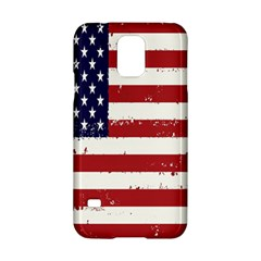 Flag United States United States Of America Stripes Red White Samsung Galaxy S5 Hardshell Case
