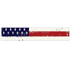 Flag United States United States Of America Stripes Red White Flano Scarf (large)