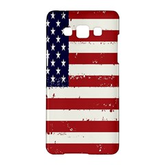 Flag United States United States Of America Stripes Red White Samsung Galaxy A5 Hardshell Case