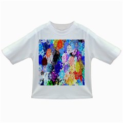 Flowers Colorful Drawing Oil Infant/Toddler T-Shirts
