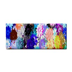 Flowers Colorful Drawing Oil Cosmetic Storage Cases