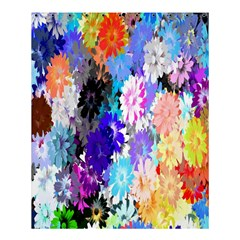 Flowers Colorful Drawing Oil Shower Curtain 60  X 72  (medium)