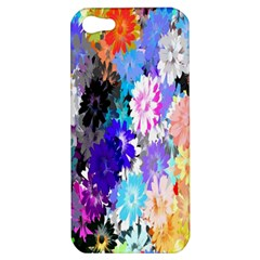 Flowers Colorful Drawing Oil Apple iPhone 5 Hardshell Case