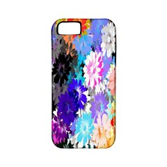 Flowers Colorful Drawing Oil Apple iPhone 5 Classic Hardshell Case (PC+Silicone)