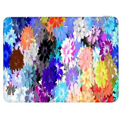 Flowers Colorful Drawing Oil Samsung Galaxy Tab 7  P1000 Flip Case