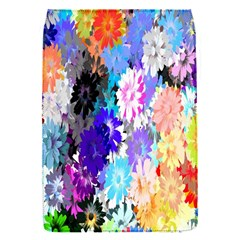 Flowers Colorful Drawing Oil Flap Covers (s)