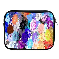 Flowers Colorful Drawing Oil Apple Ipad 2/3/4 Zipper Cases