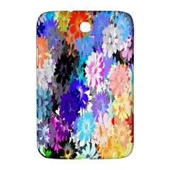 Flowers Colorful Drawing Oil Samsung Galaxy Note 8.0 N5100 Hardshell Case