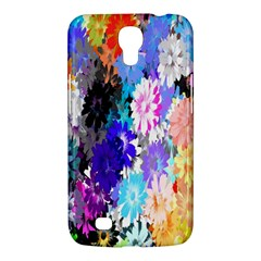 Flowers Colorful Drawing Oil Samsung Galaxy Mega 6.3  I9200 Hardshell Case