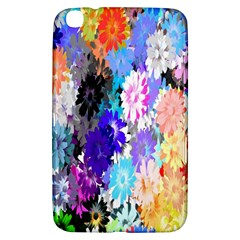 Flowers Colorful Drawing Oil Samsung Galaxy Tab 3 (8 ) T3100 Hardshell Case