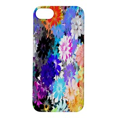 Flowers Colorful Drawing Oil Apple iPhone 5S/ SE Hardshell Case