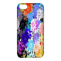 Flowers Colorful Drawing Oil Apple iPhone 5C Hardshell Case