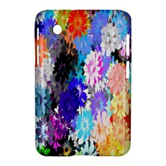 Flowers Colorful Drawing Oil Samsung Galaxy Tab 2 (7 ) P3100 Hardshell Case