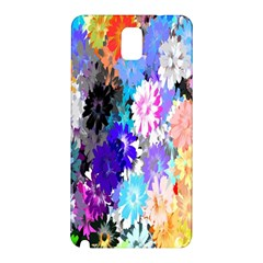 Flowers Colorful Drawing Oil Samsung Galaxy Note 3 N9005 Hardshell Back Case