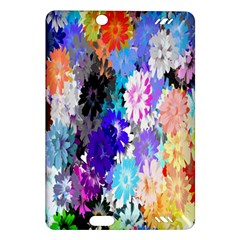 Flowers Colorful Drawing Oil Amazon Kindle Fire HD (2013) Hardshell Case