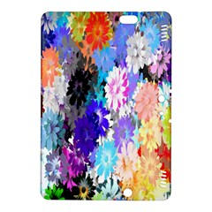 Flowers Colorful Drawing Oil Kindle Fire Hdx 8 9  Hardshell Case