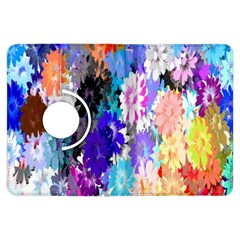 Flowers Colorful Drawing Oil Kindle Fire HDX Flip 360 Case