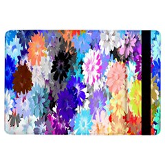 Flowers Colorful Drawing Oil iPad Air Flip