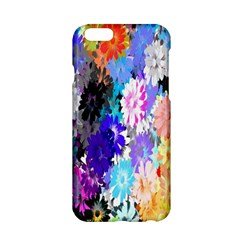 Flowers Colorful Drawing Oil Apple iPhone 6/6S Hardshell Case