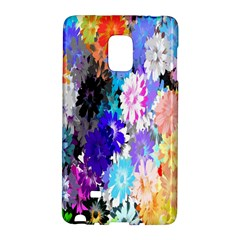 Flowers Colorful Drawing Oil Galaxy Note Edge