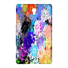 Flowers Colorful Drawing Oil Samsung Galaxy Tab S (8 4 ) Hardshell Case