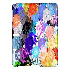 Flowers Colorful Drawing Oil Samsung Galaxy Tab S (10.5 ) Hardshell Case