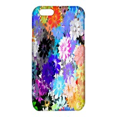 Flowers Colorful Drawing Oil iPhone 6/6S TPU Case
