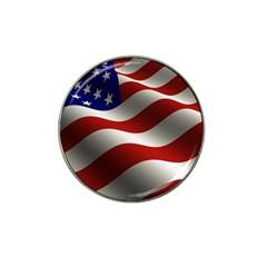 Flag United States Stars Stripes Symbol Hat Clip Ball Marker