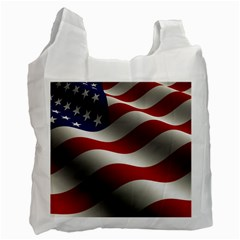 Flag United States Stars Stripes Symbol Recycle Bag (Two Side)