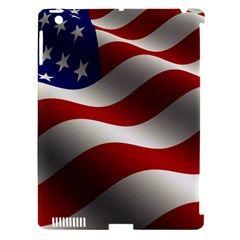 Flag United States Stars Stripes Symbol Apple iPad 3/4 Hardshell Case (Compatible with Smart Cover)