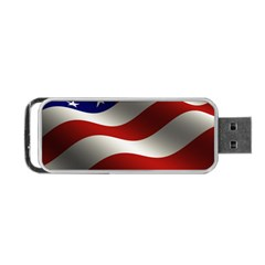 Flag United States Stars Stripes Symbol Portable Usb Flash (two Sides)