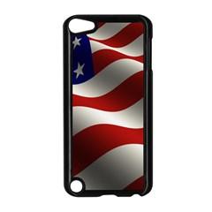 Flag United States Stars Stripes Symbol Apple iPod Touch 5 Case (Black)