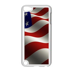 Flag United States Stars Stripes Symbol Apple iPod Touch 5 Case (White)