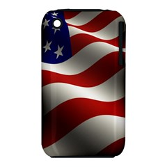 Flag United States Stars Stripes Symbol iPhone 3S/3GS