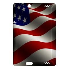 Flag United States Stars Stripes Symbol Amazon Kindle Fire HD (2013) Hardshell Case