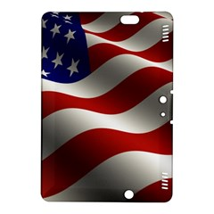 Flag United States Stars Stripes Symbol Kindle Fire HDX 8.9  Hardshell Case