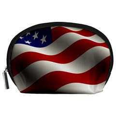 Flag United States Stars Stripes Symbol Accessory Pouches (large)