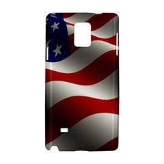 Flag United States Stars Stripes Symbol Samsung Galaxy Note 4 Hardshell Case