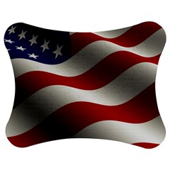 Flag United States Stars Stripes Symbol Jigsaw Puzzle Photo Stand (Bow)