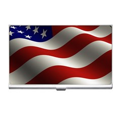 Flag United States Stars Stripes Symbol Business Card Holders