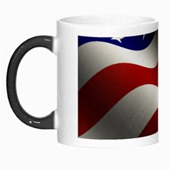 Flag United States Stars Stripes Symbol Morph Mugs