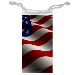 Flag United States Stars Stripes Symbol Jewelry Bag