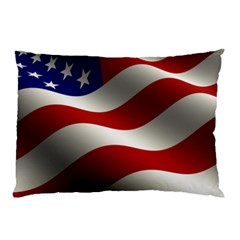 Flag United States Stars Stripes Symbol Pillow Case (two Sides)