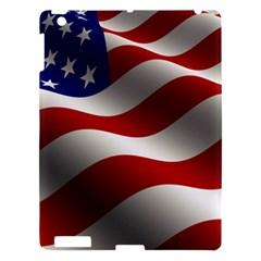 Flag United States Stars Stripes Symbol Apple iPad 3/4 Hardshell Case