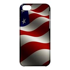 Flag United States Stars Stripes Symbol Apple iPhone 5C Hardshell Case