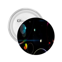 Glare Light Luster Circles Shapes 2.25  Buttons