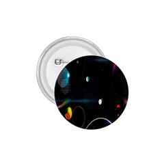 Glare Light Luster Circles Shapes 1.75  Buttons