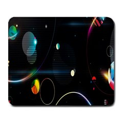 Glare Light Luster Circles Shapes Large Mousepads