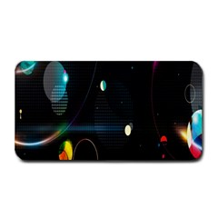 Glare Light Luster Circles Shapes Medium Bar Mats